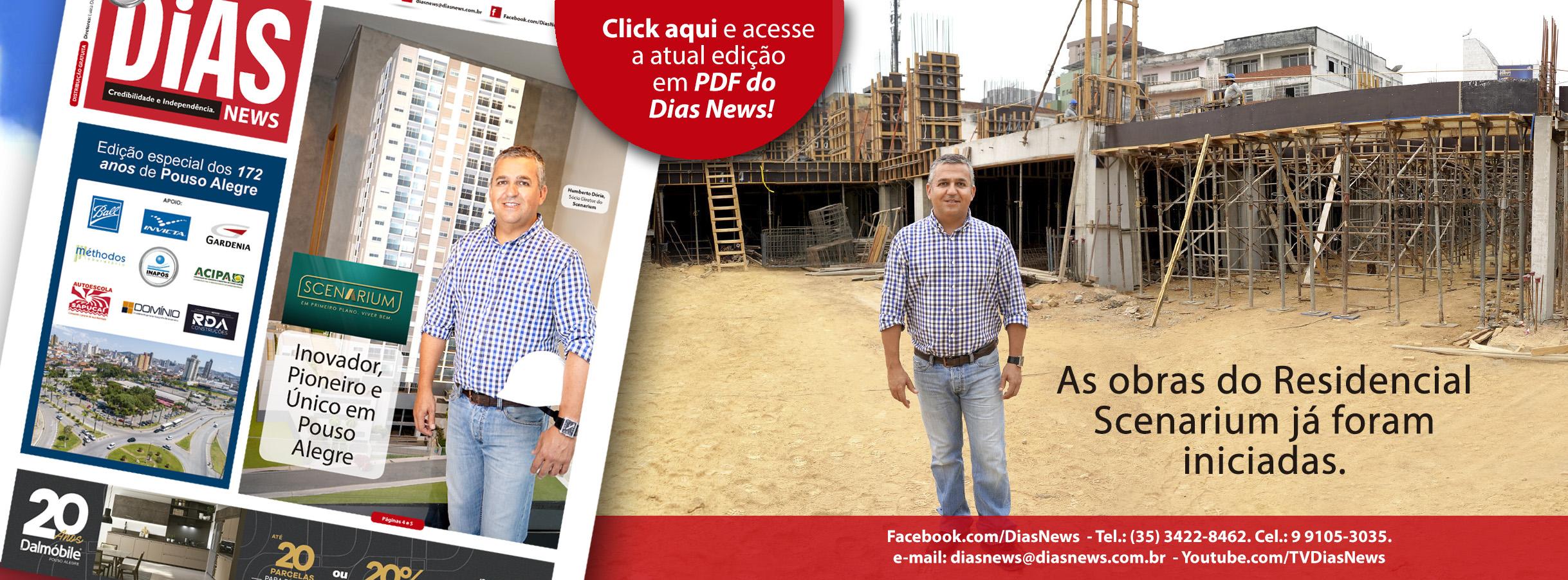 Folha de Rosto do Site www.diasnews.com.br