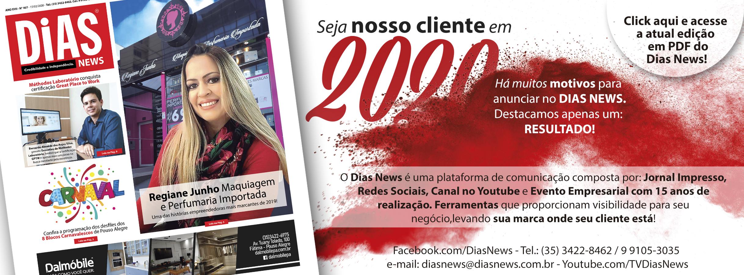 CLICK AQUI e acesse a edição 407 do Dias News