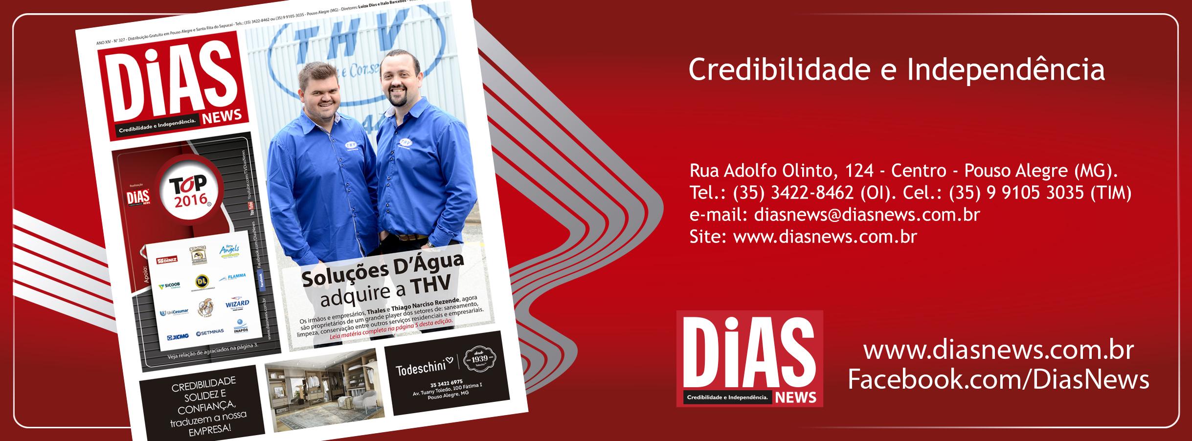Topo Folha de Rosto Dias News – 2016