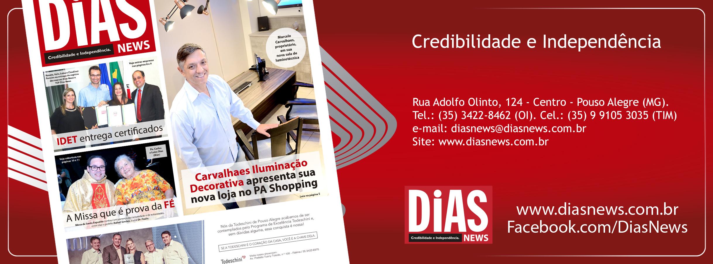 CLICK AQUI e acesse a edição 341 do Dias News