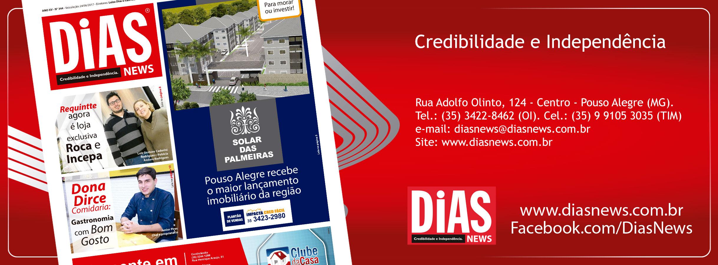 CLICK AQUI e acesse a edição 344 do Dias News