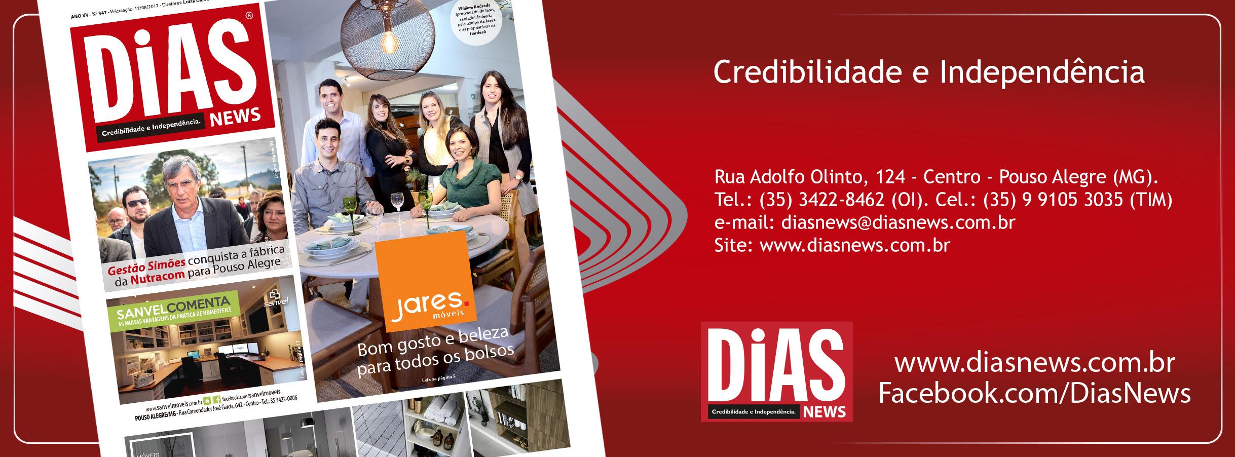 CLICK AQUI e acesse a edição 347 do Dias News