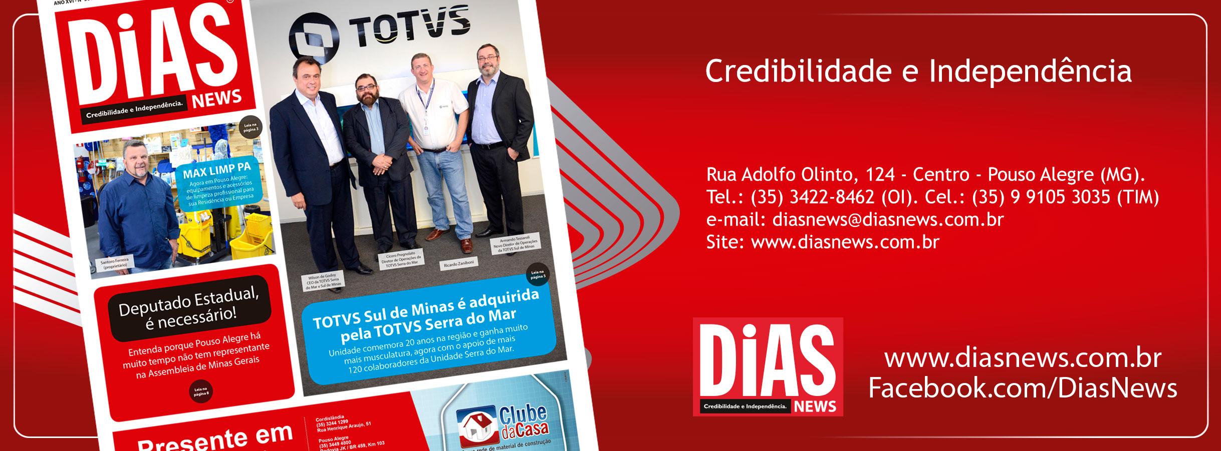CLICK AQUI e acesse a edição 366 do Dias News