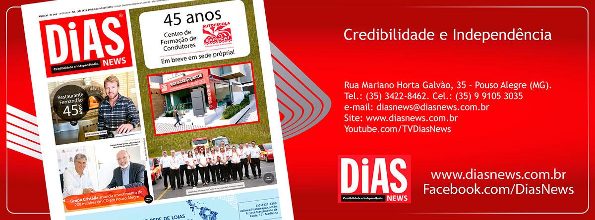CLICK AQUI e acesse a edição 368 do Dias News