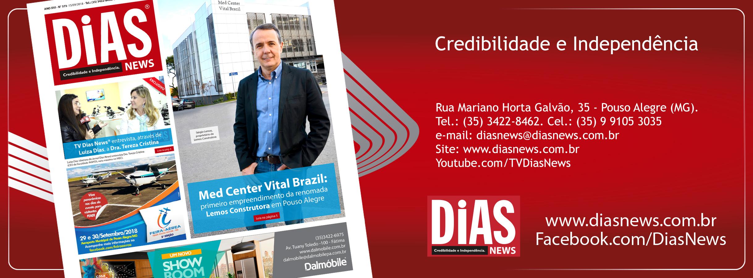 CLICK AQUI e acesse a edição 373 do Dias News
