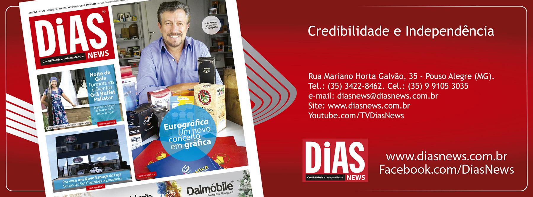 CLICK AQUI e acesse a edição 379 do Dias News