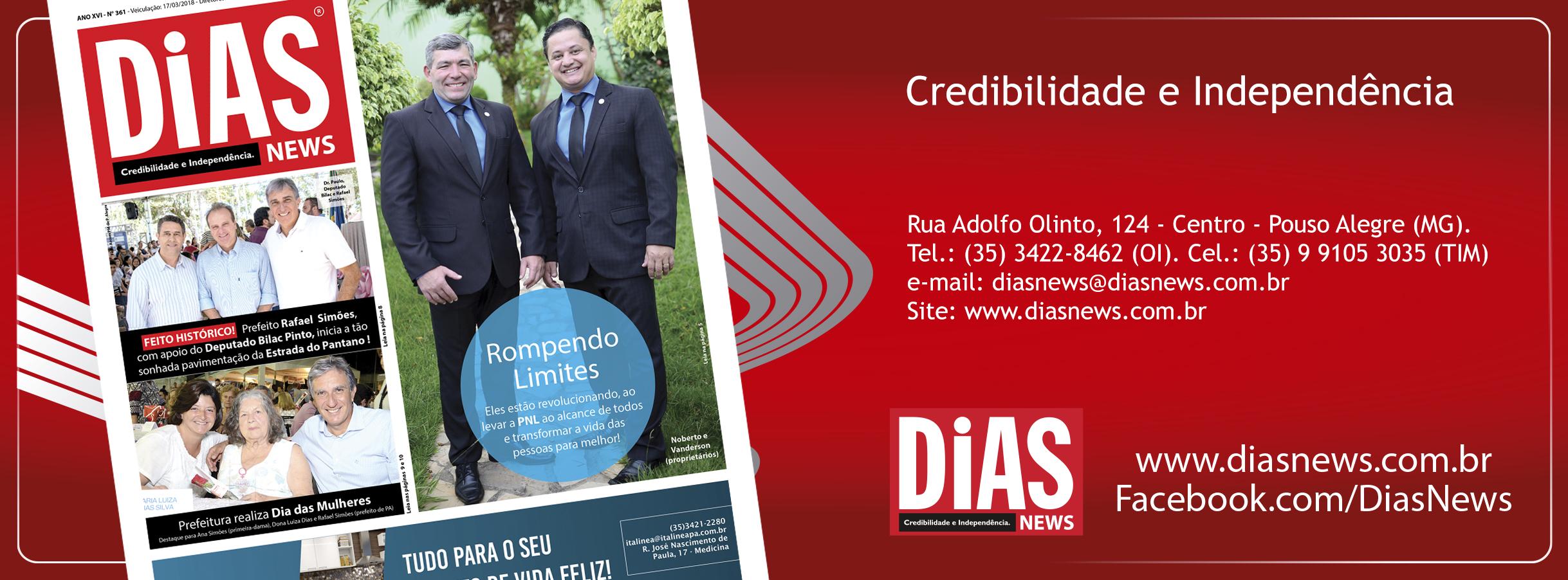 CLICK AQUI e acesse a edição 361 do Dias News