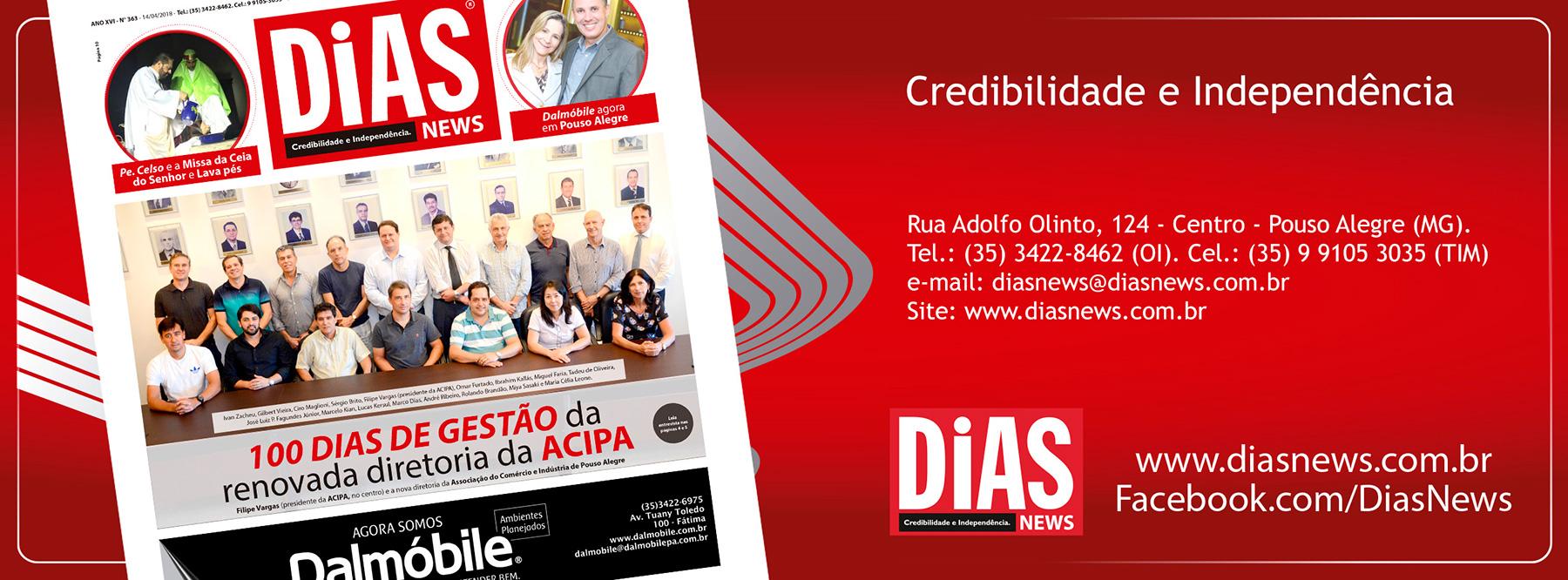 CLICK AQUI e acesse a edição 363 do Dias News