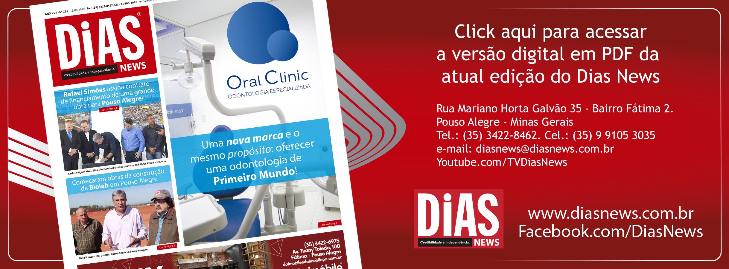 CLICK AQUI e acesse a edição 391 do Dias News